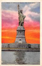 top017473 - Statue of Liberty Post Card