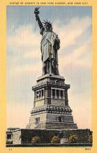top017475 - Statue of Liberty Post Card