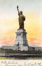 top017477 - Statue of Liberty Post Card