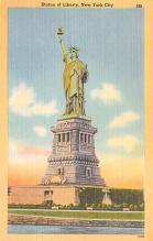 top017489 - Statue of Liberty Post Card