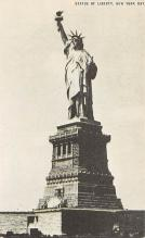 top017491 - Statue of Liberty Post Card