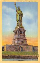 top017495 - Statue of Liberty Post Card