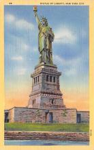 top017497 - Statue of Liberty Post Card