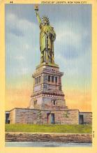 top017499 - Statue of Liberty Post Card