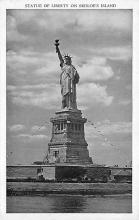 top017501 - Statue of Liberty Post Card