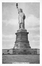 top017503 - Statue of Liberty Post Card