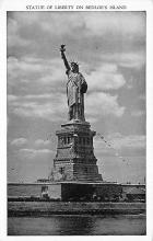 top017505 - Statue of Liberty Post Card