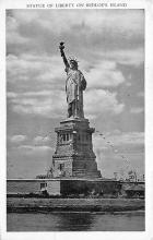 top017507 - Statue of Liberty Post Card