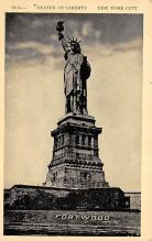top017511 - Statue of Liberty Post Card