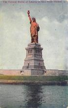 top017525 - Statue of Liberty Post Card