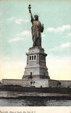 top017565 - Statue of Liberty Post Card