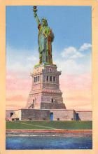 top017577 - Statue of Liberty Post Card