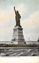 top017583 - Statue of Liberty Post Card