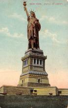 top017585 - Statue of Liberty Post Card