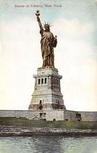top017595 - Statue of Liberty Post Card