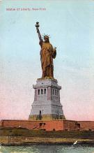top017603 - Statue of Liberty Post Card