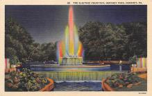 top017661 - Fountains Post Card
