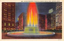 top017757 - Fountains Post Card