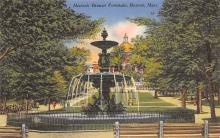 top017763 - Fountains Post Card