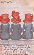 top018993 - Hats Post Card
