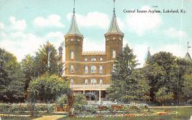 top020363 - Insane Asylum, Mental Institution Post Card