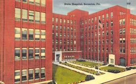 top020369 - Insane Asylum, Mental Institution Post Card