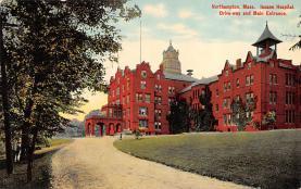 top020409 - Insane Asylum, Mental Institution Post Card