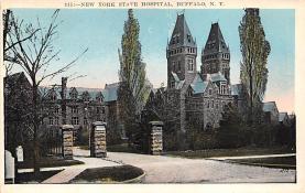 top020411 - Insane Asylum, Mental Institution Post Card