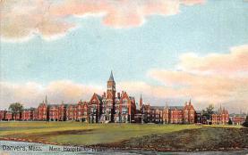 top020415 - Insane Asylum, Mental Institution Post Card