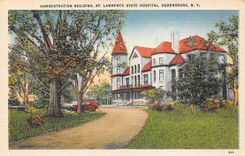 top020419 - Insane Asylum, Mental Institution Post Card