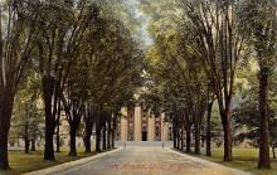 top020427 - Insane Asylum, Mental Institution Post Card