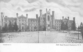 top020429 - Insane Asylum, Mental Institution Post Card