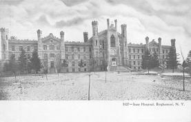 top020439 - Insane Asylum, Mental Institution Post Card