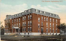 top020551 - Hospitals Post Card