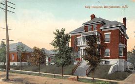 top021027 - Hospitals Post Card