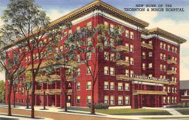 top021031 - Hospitals Post Card