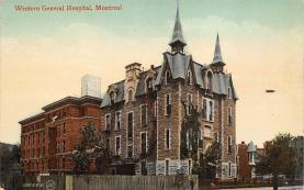 top021041 - Hospitals Post Card
