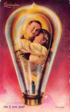 top021241 - Love Light Post Card