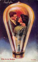 top021249 - Love Light Post Card