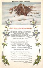 top021583 - Poetry Post Card