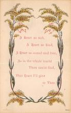 top021587 - Poetry Post Card