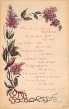 top021589 - Poetry Post Card