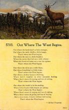 top021595 - Poetry Post Card