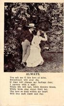 top021601 - Poetry Post Card