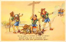 top021699 - Scouts Post Card