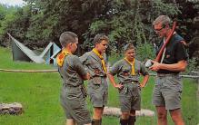top021813 - Scouts Post Card