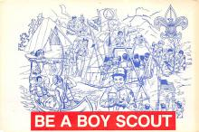 top021839 - Scouts Post Card