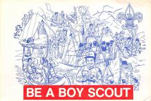 top021841 - Scouts Post Card