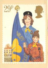 top021849 - Scouts Post Card
