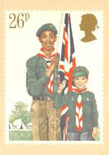 top021851 - Scouts Post Card